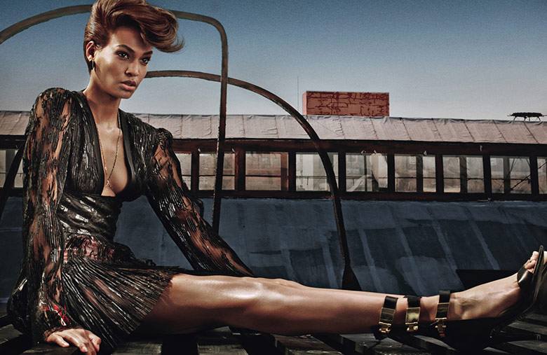 Joan Smalls Photographed by Steven Klein