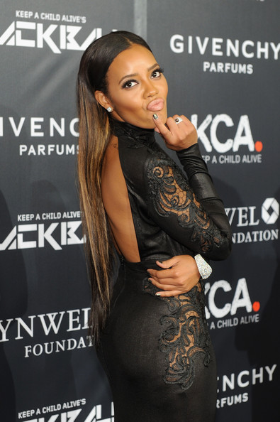 Angela Simmons Keep a Child Alive Red Carpet