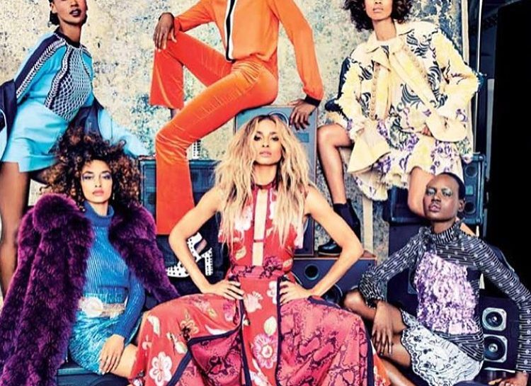L'Officiel Magazine September 2016 Campaign Gang of Africa Featuring Singer Ciara