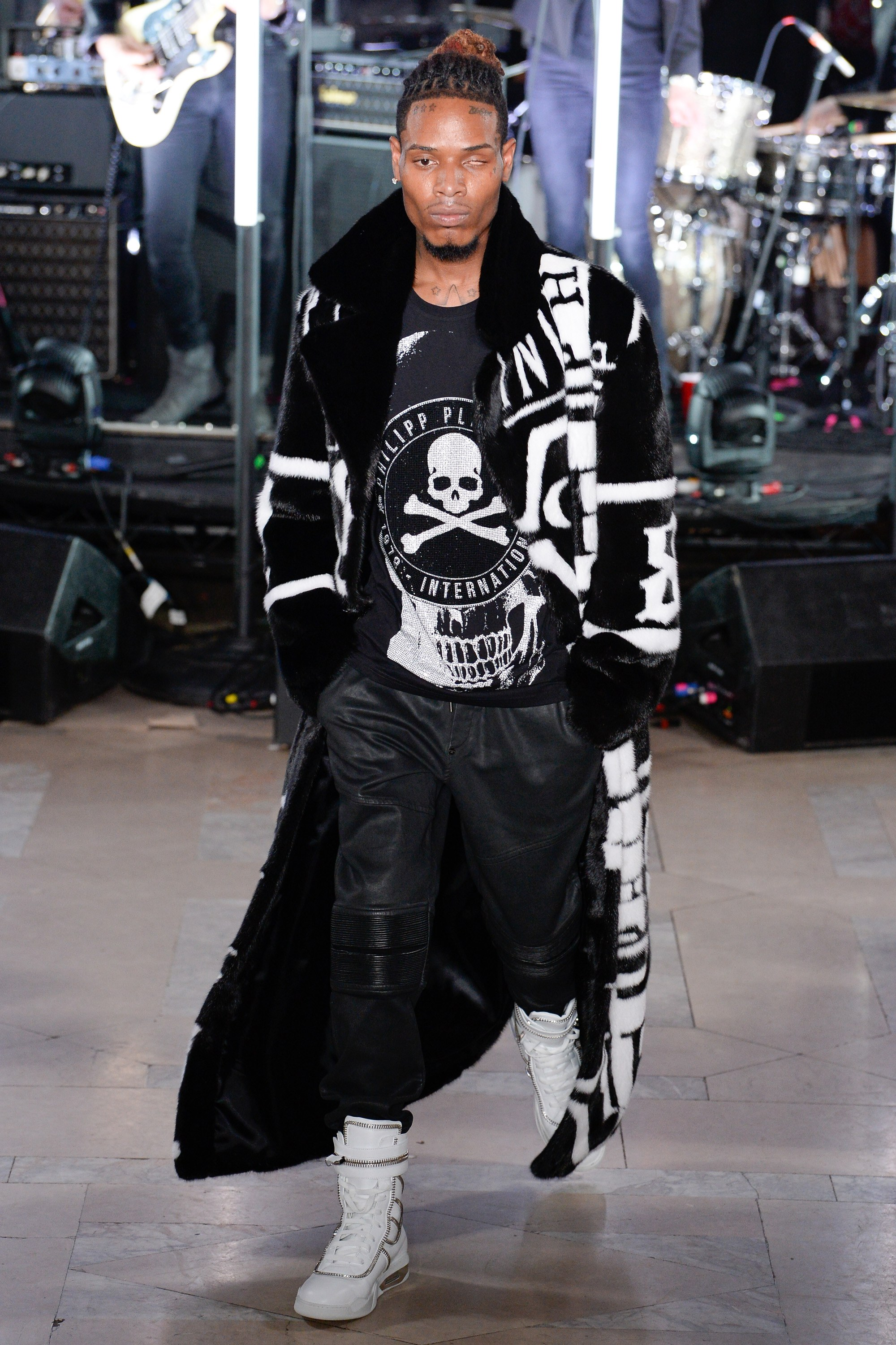 Fetty Wap in Philipp Plein