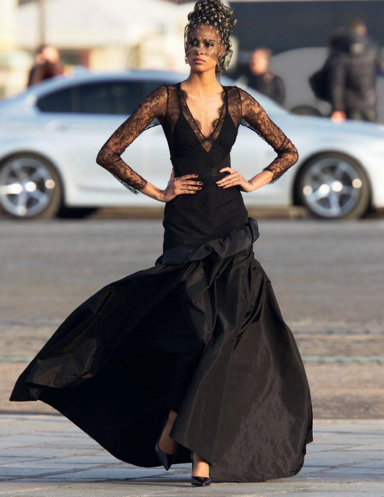 Vogue Arabia Fashion Editorial Cindy Bruna