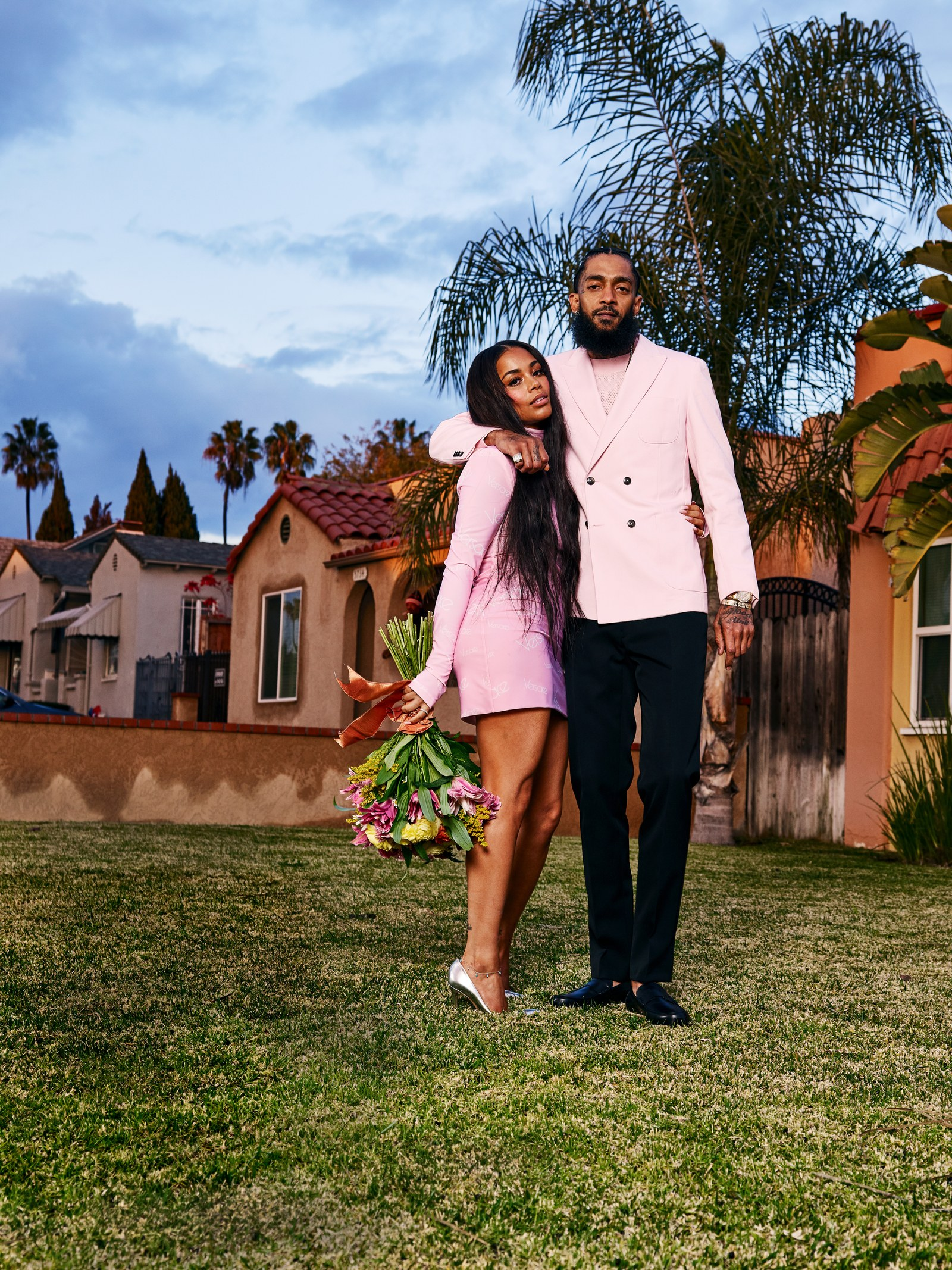Nipsey Hussle_Lauren London GQ