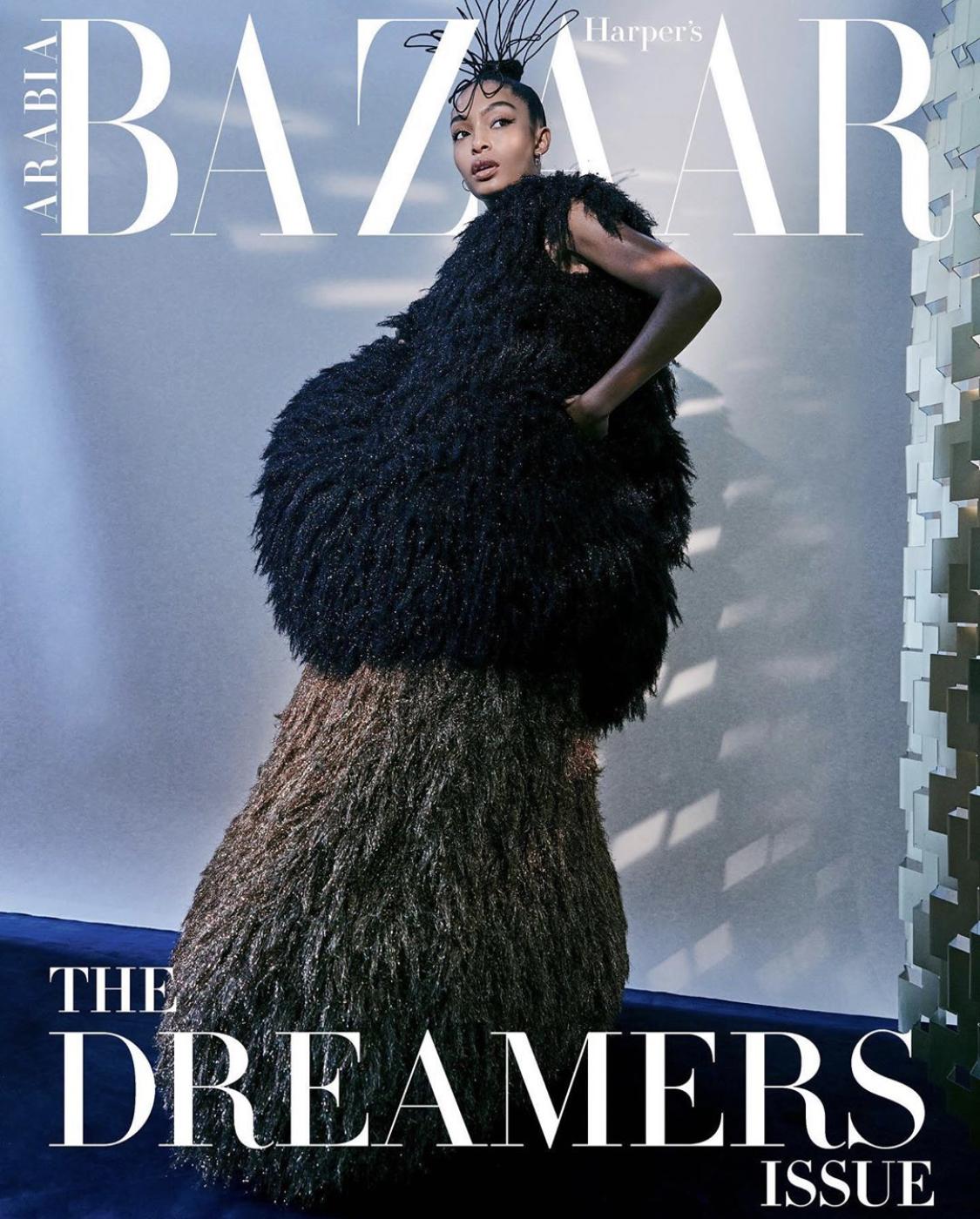 Yara Shahidi_Harpers Bazaar Arabia_Septemner 2020