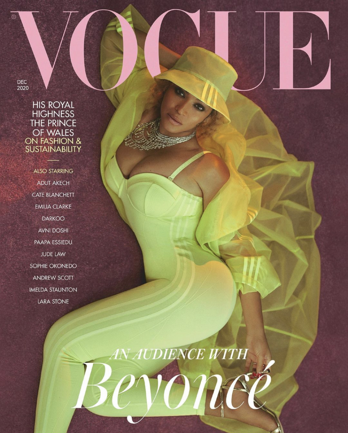 Beyonce for British VOGUE December 2020 Issue2