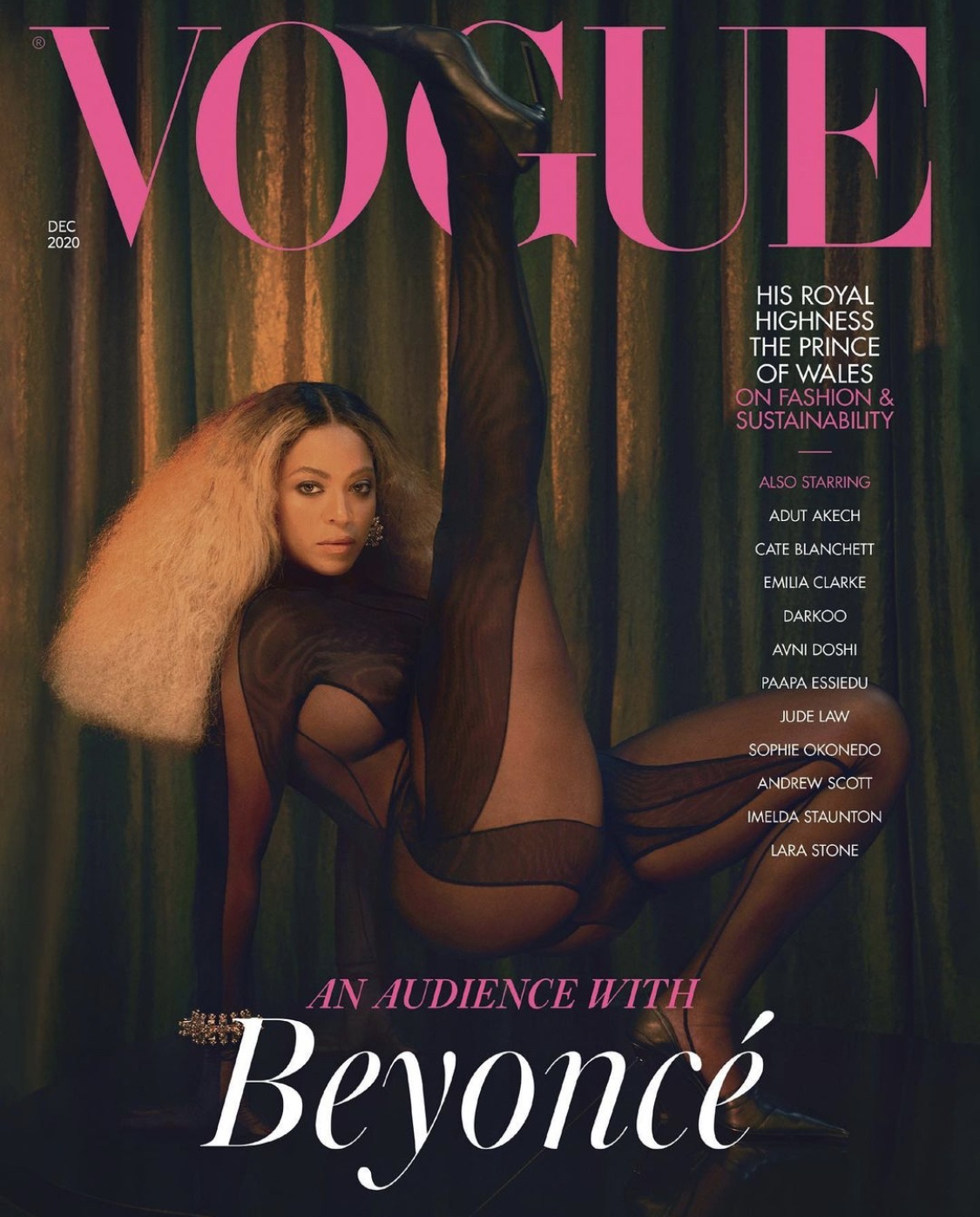 Beyonce for British VOGUE December 2020 Issue3